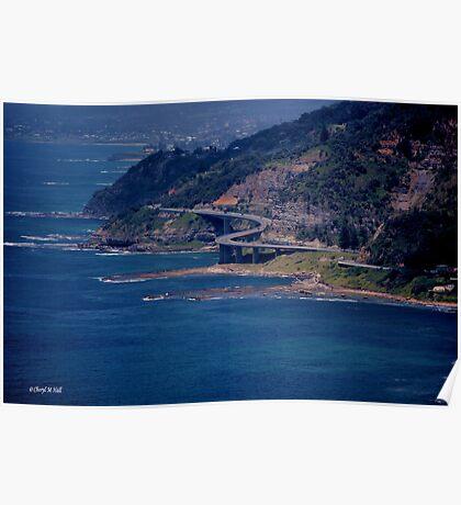 SEA CLIFF BRIDGE ---- STANWELL TOPS Poster
