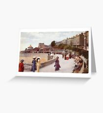 Weston Super Mare England in 1913 Greeting Card