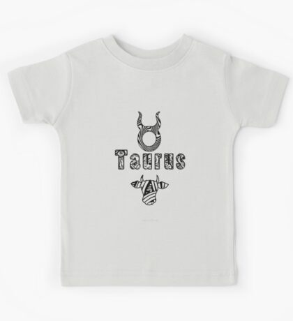 Taurus Doodle Art  (1516 Views) Kids Clothes