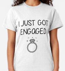 Got The Best Fiance In The World t-shirt couple love romantic girlfriend 4894