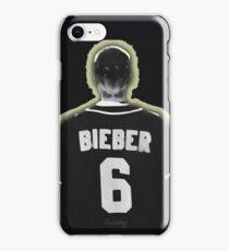 Bieber 6 (scratch) iPhone Case/Skin