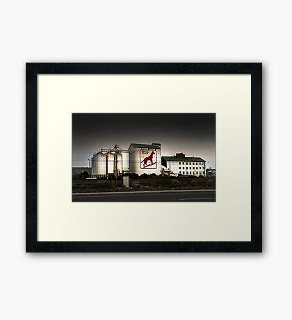 Dingo Flour Mill - Fremantle Western Australia  Framed Print