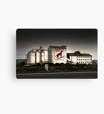 Dingo Flour Mill - Fremantle Western Australia  Canvas Print