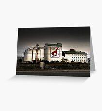 Dingo Flour Mill - Fremantle Western Australia  Greeting Card