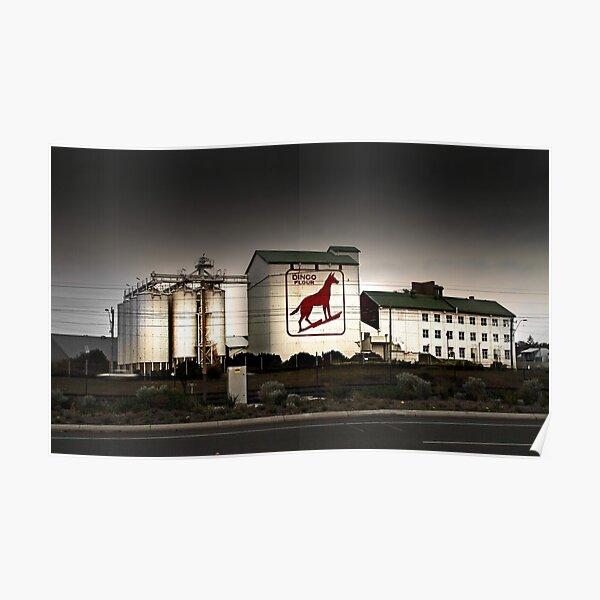 Dingo Flour Mill - Fremantle Western Australia  Poster
