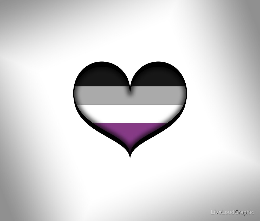 Asexual Heart by LiveLoudGraphic