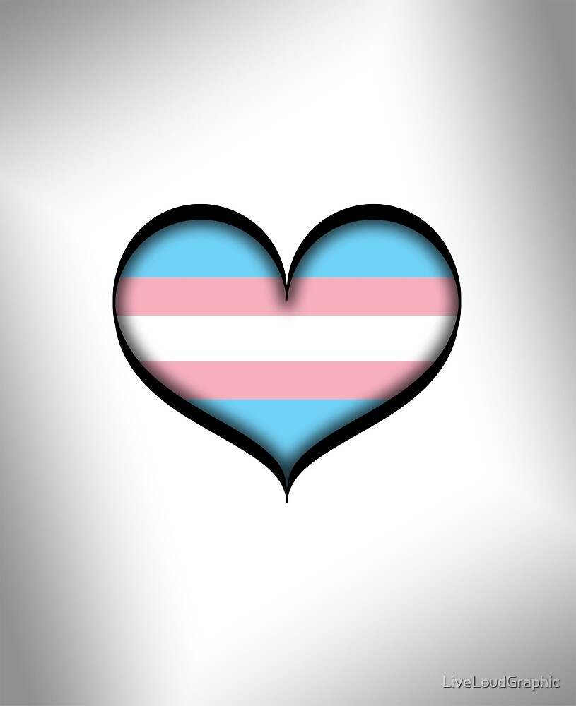 Transgender Heart by LiveLoudGraphic