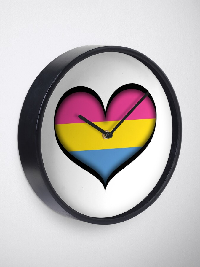 Alternate view of Pansexual Heart Clock