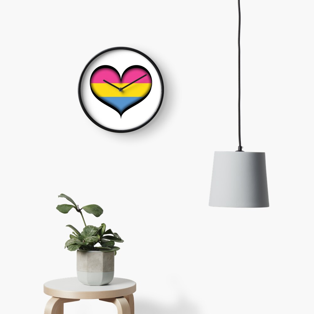Pansexual Heart Clock