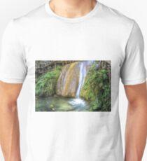 Autumn waterfall Unisex T-Shirt