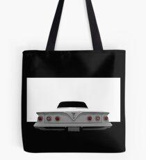 1961 Chevy Impala - Hoher Kontrast Tote Bag