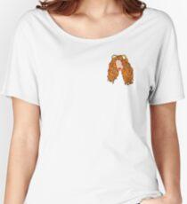 Mahogany LOX Merchandise (Cartoon) Women's Relaxed Fit T-Shirt