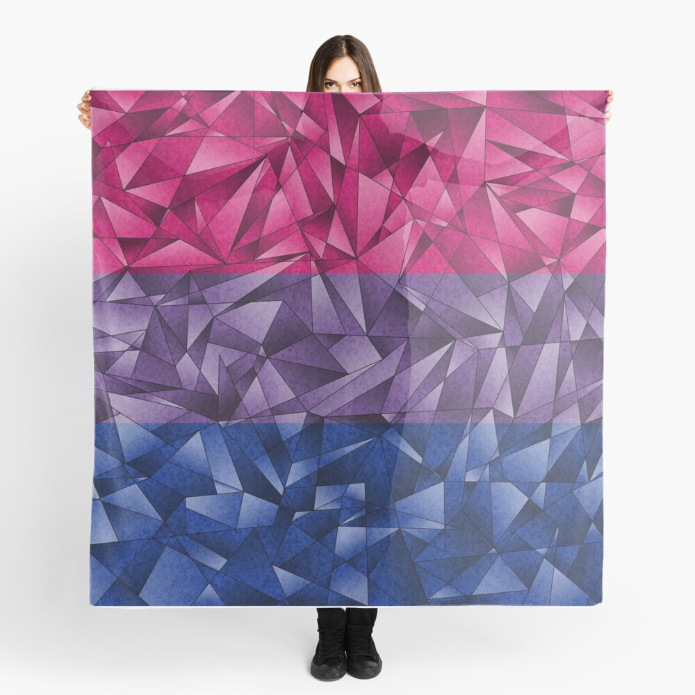 Abstract Bisexual Flag Scarf