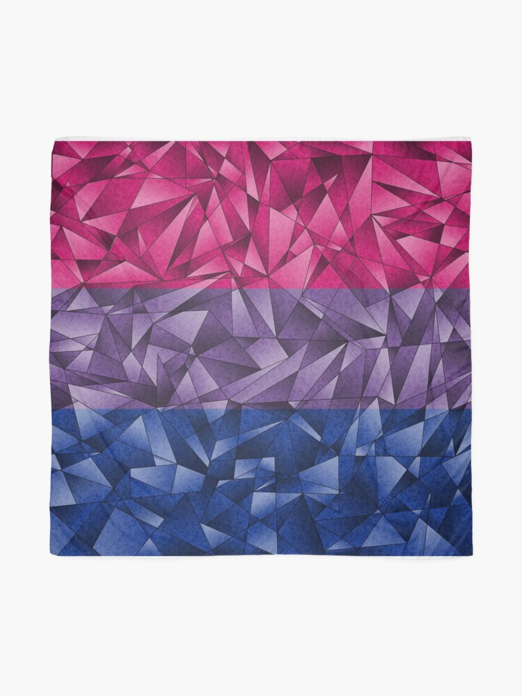 Alternate view of Abstract Bisexual Flag Scarf