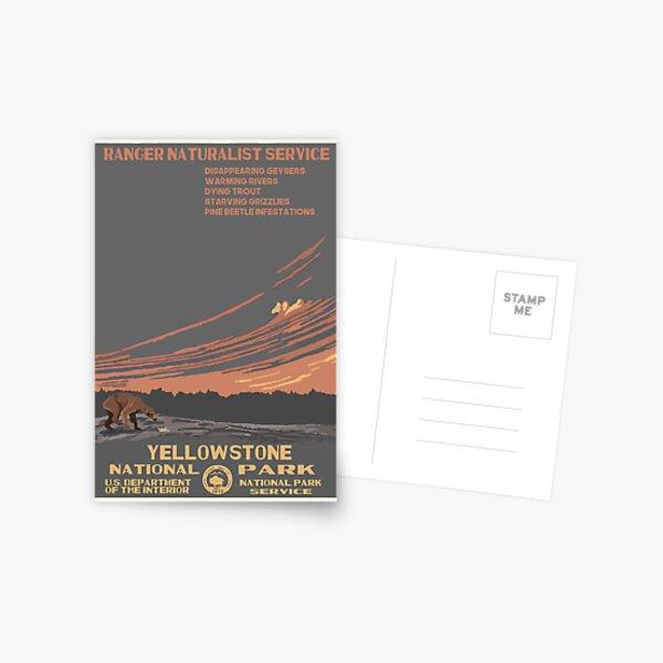 National Parks 2050: Yellowstone Postcard