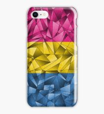 Abstract Pansexual Flag iPhone Case/Skin