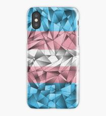 Abstract Transgender Flag iPhone Case/Skin