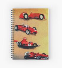Formula One Evolution Spiral Notebook