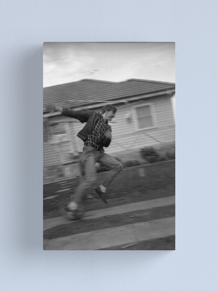 Alternate view of If at first you don't succeed (unicycle) Canvas Print