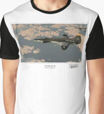 Starjets: The Lockheed L-133 Graphic T-Shirt