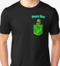 Pickle Rick Pocket Portal Unisex T-Shirt