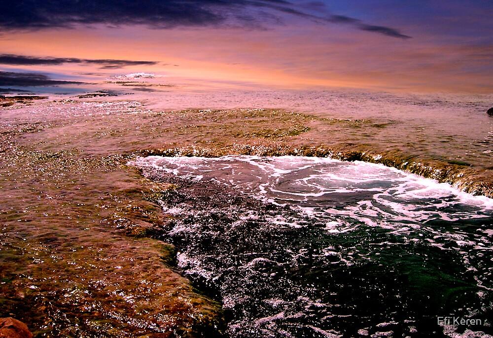 And sea has broken aside by Efi Keren