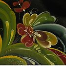 Norwegian Telemark Rosemaling by Forestwood