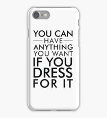 Dress For It iPhone Case/Skin