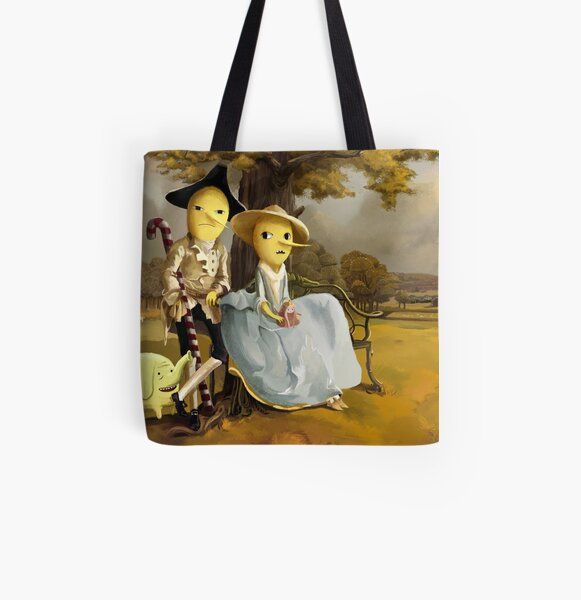 Every Earl Needs a Painting All Over Print Tote Bag