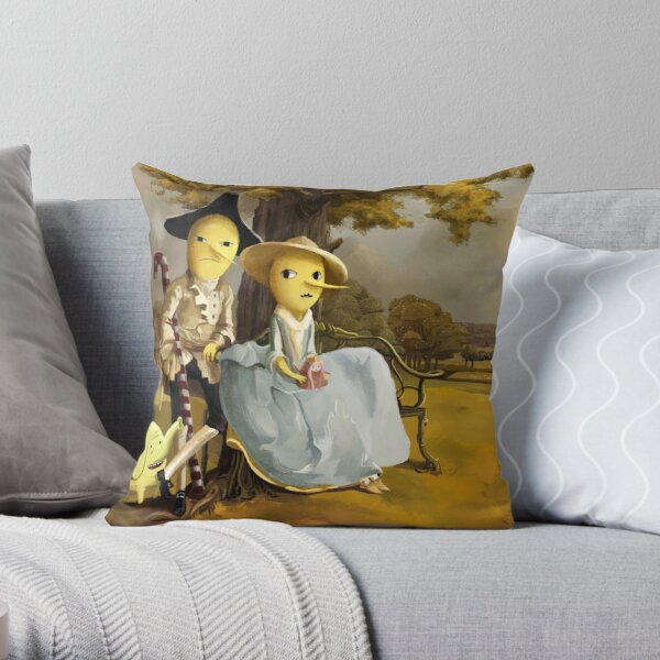 Every Earl Needs a Painting Throw Pillow