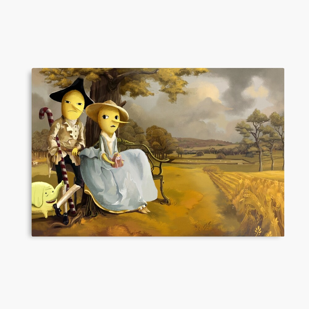 Every Earl Needs a Painting Metal Print