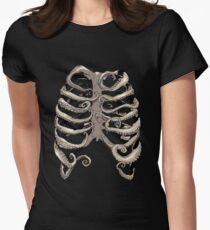 Your Rib is an Octopus Women's Fitted T-Shirt