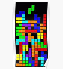 Tetris blocks Poster