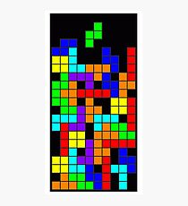 Tetris blocks Photographic Print