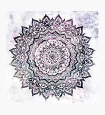 JEWEL MANDALA Photographic Print