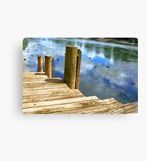 Screensaver Canvas Print