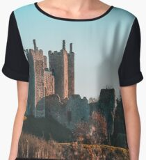 Castle on the Hill Chiffon Top