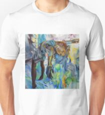 I've been way down, 30-30cm, 2017, oil on canvas Unisex T-Shirt