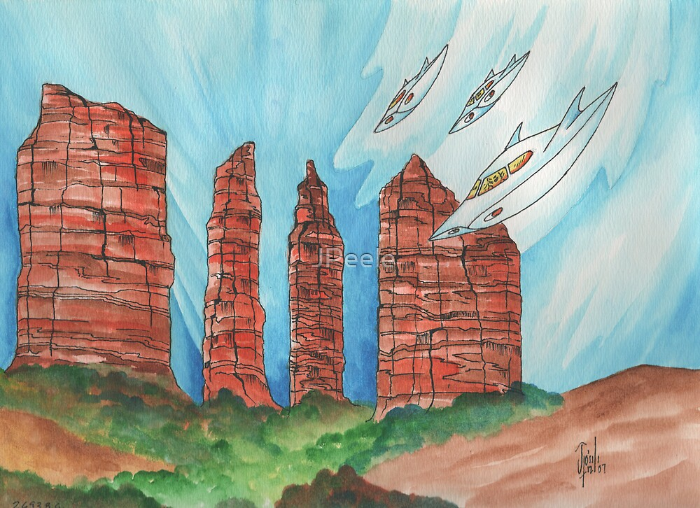 Sedona 2693bce by James Peele