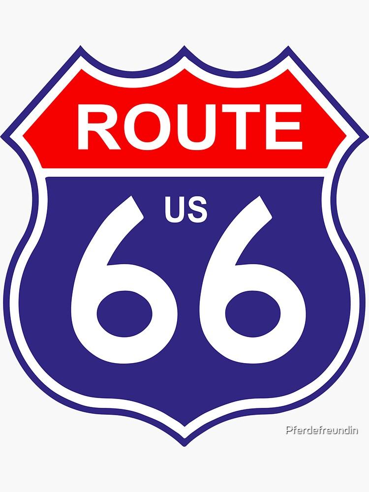 Route 66 by Pferdefreundin
