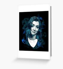 Splatter Willow Greeting Card