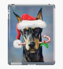 Doberman Christmas iPad Case/Skin