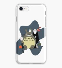 Studio Ghibli: Totoro, Jiji, Calcifer, Forest Spirit, Ponyo, Rat, Fly, Soot Sprite (customisable, check description!) iPhone Case/Skin