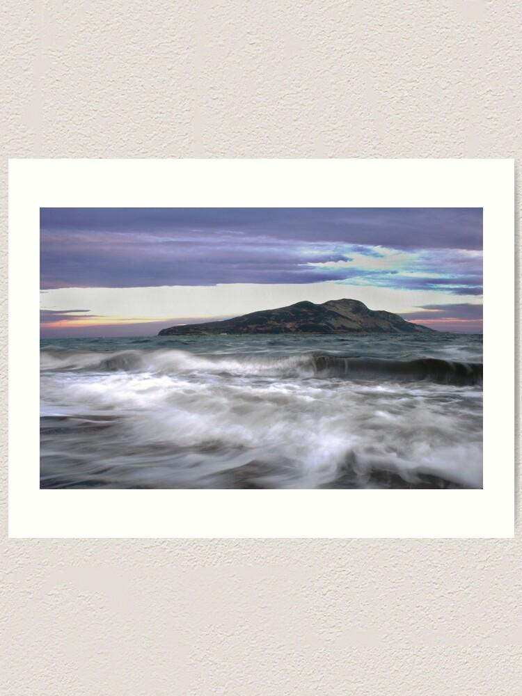Alternate view of Twilight Holy Isle Art Print