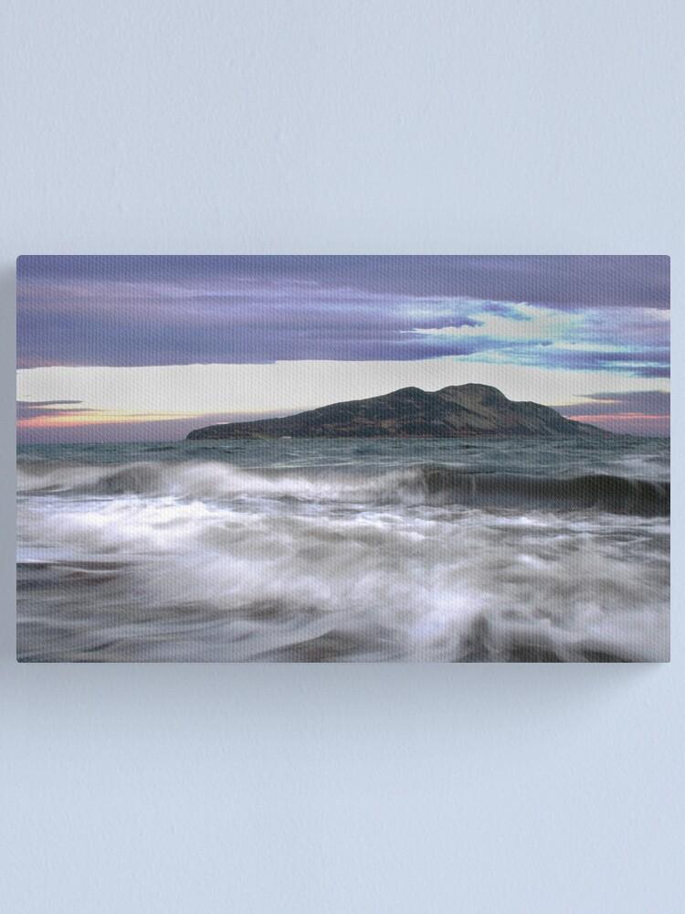 Alternate view of Twilight Holy Isle Canvas Print