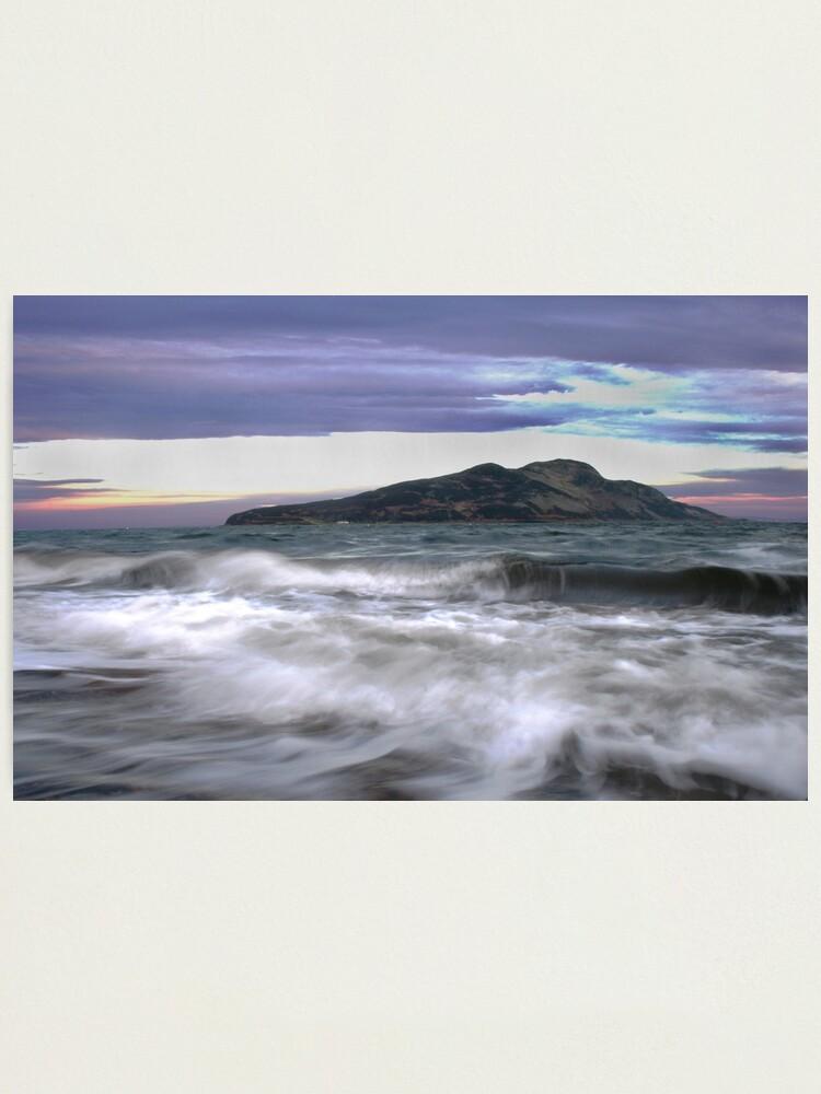 Alternate view of Twilight Holy Isle Photographic Print
