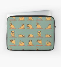Pug Yoga Laptoptasche