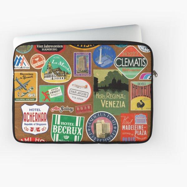 Luggage Stickers Laptop Sleeve