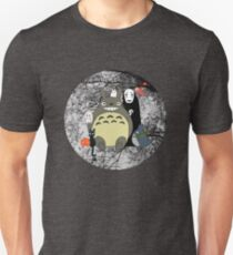 Studio Ghibli: Totoro, Jiji, Calcifer, Forest Spirit, Ponyo, Rat, Fly, Soot Sprite (customisable check artist notes) Unisex T-Shirt