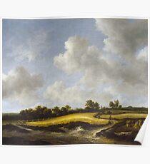 Jacob Van Ruisdael - Landscape With A Wheatfield Poster